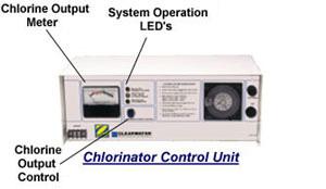 salt water chlorinator how to clean